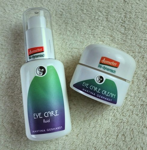 EYE CARE Cream und Fluid von Martina Gebhardt: Der Produkttest
